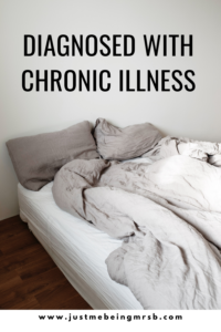 Diagnosed with chronic illness